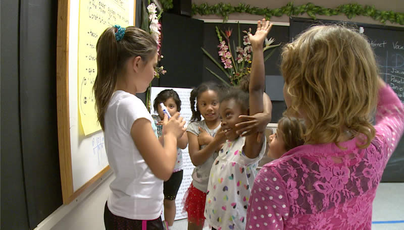 Kids and Educators Team Up To Create Dance Moves for Songs